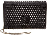 Versace City Stud Palazzo Leather Evening Bag