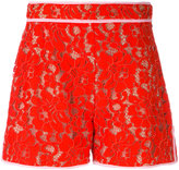 MSGM lace shorts - women - Cotton/Polyamide/Polyester/viscose - 40