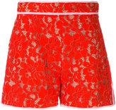 MSGM lace shorts - women - Cotton/Polyamide/Polyester/viscose - 40