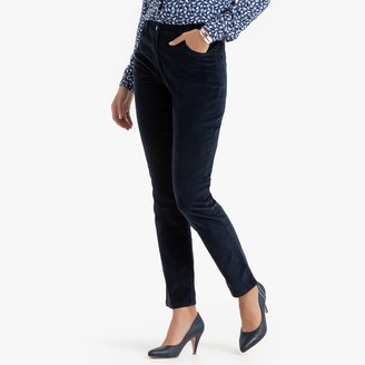 """Anne Weyburn Stretchy Needlecord Trousers, Length 30.5"""""""