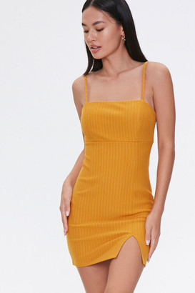 Forever 21 Pinstriped Mini Dress