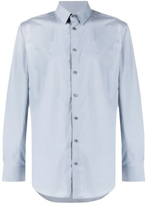 Giorgio Armani Long-Sleeve Fitted Shirt