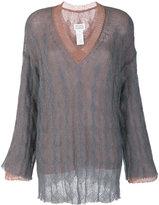Maison Margiela knit layered top