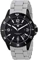 Swiss Legend Men's 93608-BB-11-GRYS Luminoso Analog Display Swiss Quartz Grey Watch
