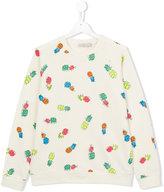 Stella McCartney Betty sweatshirt - kids - Cotton/Spandex/Elastane - 14 yrs