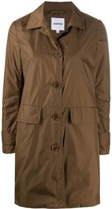 Aspesi Button-Through Button Coat