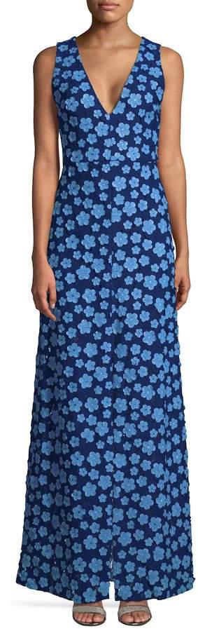 Alice + Olivia Women's Faustina Maxi Dress