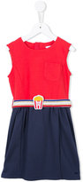Little Marc Jacobs flared dress - kids - Cotton/Spandex/Elastane/Modal/Polyamide - 10 yrs