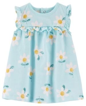 Carter's Baby Girls Floral Jersey Dress