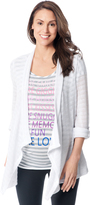 Motherhood BumpStart Open Front Maternity Cardigan
