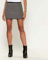 Numero 00 Rope Laced Mini Skirt