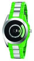 01 The One 01TheOne AN08G06 42mm Stainless Steel Case Green Resin Mineral Men's Watch