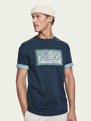 Scotch & Soda Roll sleeve t-shirt | Men