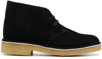 Clarks Suede Lace-Up Desert Boots