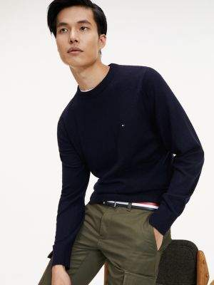 Tommy Hilfiger Lambswool Crew Neck Jumper