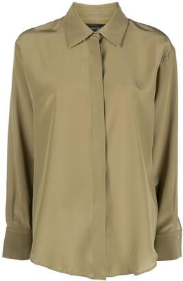 FEDERICA TOSI Silk Long-Sleeve Shirt