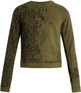 Haider Ackermann Perth leopard-print cotton sweatshirt