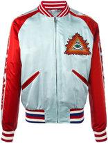 Gucci L'Aveugle Par Amour bomber jacket - men - Silk/Cupro/Viscose/Virgin Wool - 46