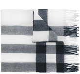 Burberry Half Mega scarf - women - Cashmere - One Size