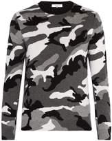 Valentino Camouflage wool sweater