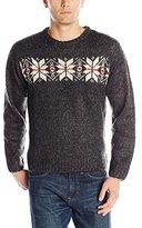 U.S. Polo Assn. Men's Snowflake Crew Neck Sweater