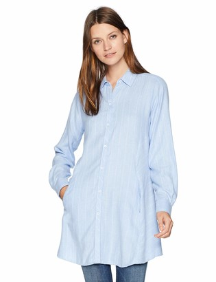 Foxcroft Women's Cici Brushed Herringbone Stripe Tunic
