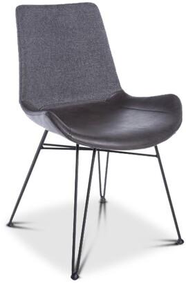Apt2B Crestmont Dining Chair GUNPOWDER/BLACK - SET OF 2