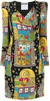 Moschino casino print dress