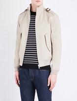 Sandro Stand collar cotton jacket