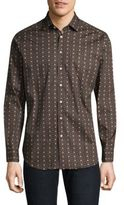 Etro Geometric Casual Button-Down Shirt
