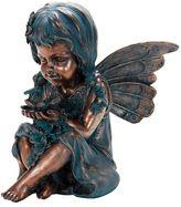 Exhart Fairy Statue Outdoor Decor