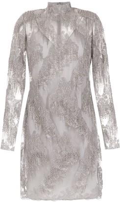 Tufi Duek long sleeved tulle dress