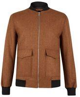 Burton Burton Ginger Wool Bomber Jacket