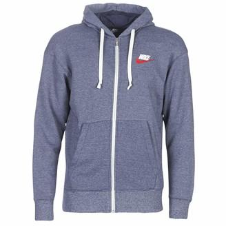 Nike M NSW Heritage Hoodie FZ Sweatshirts and Fleece Jackets Navy - XXL - Sweatshirts