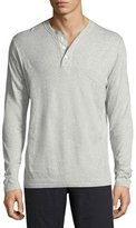 Billy Reid Cullman Cotton-Blend Henley T-Shirt