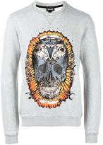 Just Cavalli skull print sweatshirt - men - Cotton - S