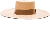 SENSI STUDIO Two Tone Brim Cordovez Hat