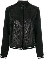 Calvin Klein Jeans zipped sweatshirt - women - Cotton/Polyamide/Polyester - L