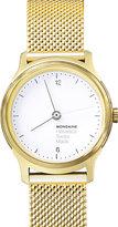 Mondaine Mh1.l1111.sm helvetica no1 light stainless steel watch