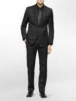 Calvin Klein X Fit Ultra Slim Fit Charcoal Suit