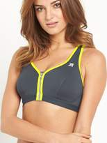 Shock Absorber Active Zipped Plunge Bra