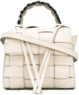Elena Ghisellini woven tote - women - Leather - One Size