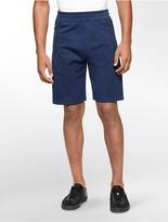 Calvin Klein Performance Space Dye Colorblock Fleece Shorts