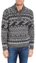 Faherty Men's Wave Merino Wool Blend Sweater