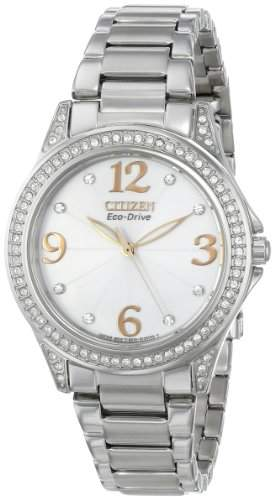 """Citizen Women's EM0230-50B """"Drive From Stainless Steel Eco-Drive Watch"""