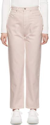 Alexander Wang Pink Bluff Jeans