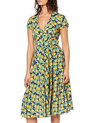 Joe Browns Women's Fruity Print Button Front Dress, Multicolour (Multi (Size:UK )