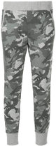 Loveless camouflage print track pants