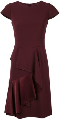 Paule Ka ruffle layered dress