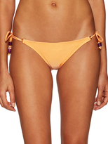 Vix Paula Hermanny Solid Long Tie Bikini Bottom